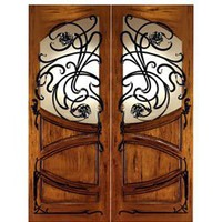 AN-2002 | Art Nouveau Doors | Entry Door