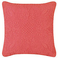 Blush Matelasse Throw Pillow | Atlantic Linens