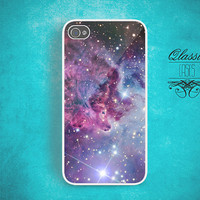 Fox Fur Nebula Space Galaxy iPhone 4 Case and iPhone 4s Case, Galaxy iPhone 4 Cover and iPhone 4s Cover