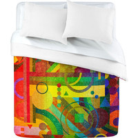 DENY Designs Home Accessories | Nick Nelson Future Patterns Duvet Cover