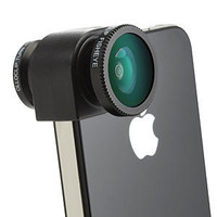 Olloclip iPhone Camera Lens System - 4-in-1 iPhone 5/5S Silver Lens