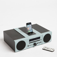 Yamaha MCR-040 Micro System MP3 Speaker Dock - Light Grey