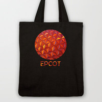 Geometric Epcot Tote Bag by Josrick | Society6