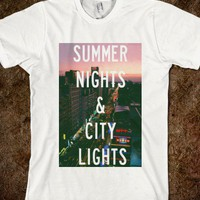Summer Nights & City Lights Top - shine on