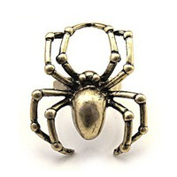 Retro Spider Ring  by Hallomall