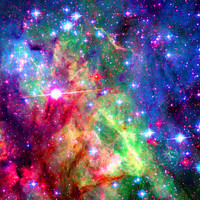 Cosmic Magic Art Print