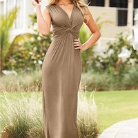 Knot front maxi dress from VENUS
