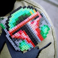 Star Wars Boba Fett Pin Fan Art Brooch Accessory