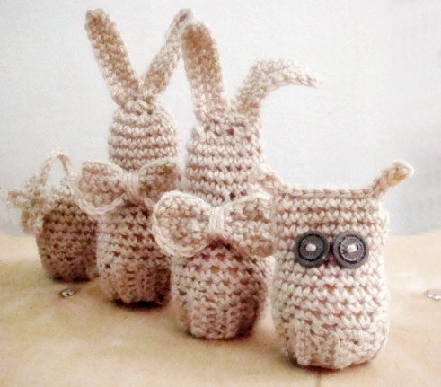 Amigurumi Easter Eggs Crochet Pattern : Easter Amigurumi Crochet PDF PATTERN Set from ...