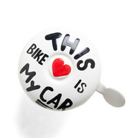 This bike is my car, bike-bell