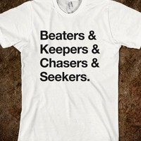 Beaters&Keepers&Chasers&Seekers