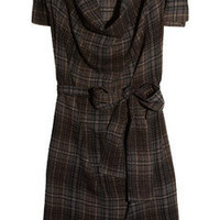 Vivienne Westwood Anglomania | Hop 'n' Skip plaid twill dress | NET-A-PORTER.COM