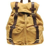ASOS Canvas Backpack at asos.com