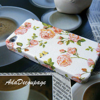 Soft Pink Rose - iPhone 4 Case , iPhone 4s Case , iPhone 3g , iPhone 3gs  , Floral iPhone Case