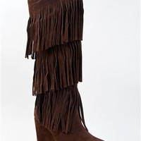 Madden Girl FROLICCK Fringe Knee High Boot | Shop Madden Girl Shoes