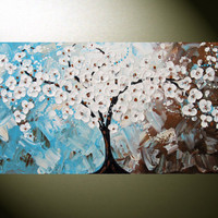 Original Large 48x24 Painting on Canvas by ChristineKrainock