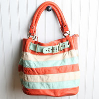 alondra striped carry on purse - &amp;#36;43.99 : ShopRuche.com, Vintage Inspired Clothing, Affordable Clothes, Eco friendly Fashion