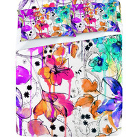 DENY Designs Home Accessories | Holly Sharpe Lost In Botanica 1 Sheet Set