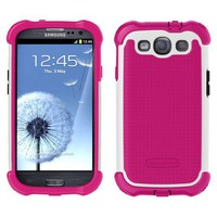 Amazon.com: Ballistic MAXX Shell Gell Case for Samsung Galaxy S3 / S III - Pink/White: Cell Phones & Accessories