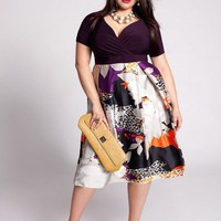 Plus Size Catalonia Dress by IGIGI