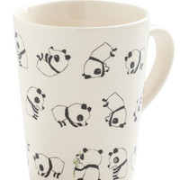Rolly Polly Panda Mug | Mod Retro Vintage Kitchen | ModCloth.com