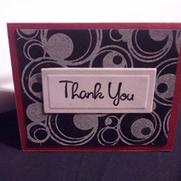 10 Mini blank Thank You cards