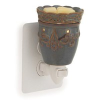 Amazon.com: Candle Warmers Etc. Plug-In Fragrance Warmer, Imperial Plum: Home & Kitchen