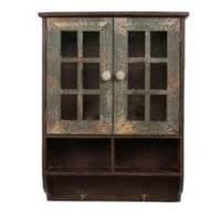 One Kings Lane - Privilege - 2-Door Reclaimed-Wood Wall Cabinet