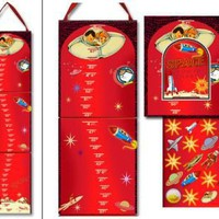 Kids' Space Growth Chart - Dolce Mia Vintage Everyday Beauty, Gifts & Stationery