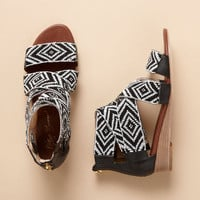 BEADED DELPHINE SANDALS