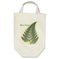 Fern Frond Tote Bag from Zazzle.com