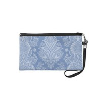 Elegant Lacy Blue Wristlet Clutches from Zazzle.com