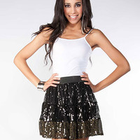 Mesh Sequin Skirt | Sexy Clothes Womens Sexy Dresses Sexy Clubwear Sexy Swimwear | Flirt Catalog