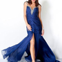 Brilliant Sweetheart Dropped Floor-length Blue Evening Dresses [10114942] - US$122.99 : DressKindom