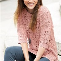 Buy Lace Stitch Sweater from the Next UK online shop