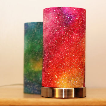 Pink/Yellow galaxy lamp