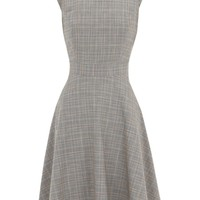 Warehouse Check full skirt dress Multi-Bright - House of Fraser
