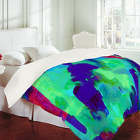 DENY Designs Home Accessories | Amy Sia Spirit Green Duvet Cover