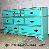 Bayside Blue Dresser