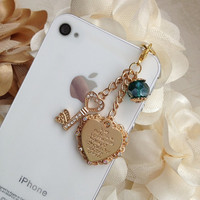 Stunning iPhone plug Phone plug and charm