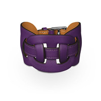 Leather Jewelry Hermès Purple - Bracelets - Jewelry | Hermès, Official Website