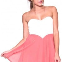 Popsicle dress in coral  | Show Pony Fashion online shopping
