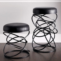 "Global Views - ""Dancing Circles"" Stools - Horchow"