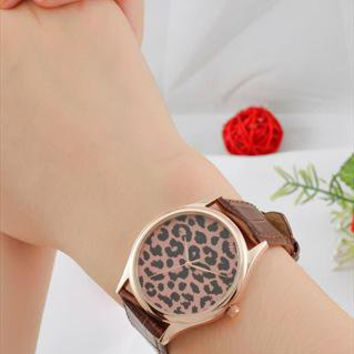 Leopard Pattern Watch (Rose gold) from SandMwatch