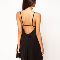 ASOS Swing Dress in Mesh at asos.com