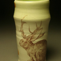 Jackalope Tumbler by patticeramics on Etsy