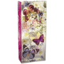 Butterflies Rectangular Glass Vase