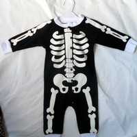 Dia De los Muertos Skeleton Baby Onesuit Halloween