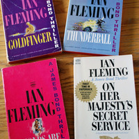 Vintage James Bond Paperbacks