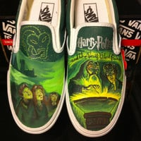 Harry Potter and the Half-Blood Prince Custom Painted Shoes